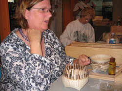 JoAnn Kelly Catsos Basketry Workshop 2008