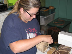 Martha Wetherbee Basket Workshop 2008 title=