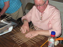 JoAnn Kelly Catsos Basketry Workshop 2009
